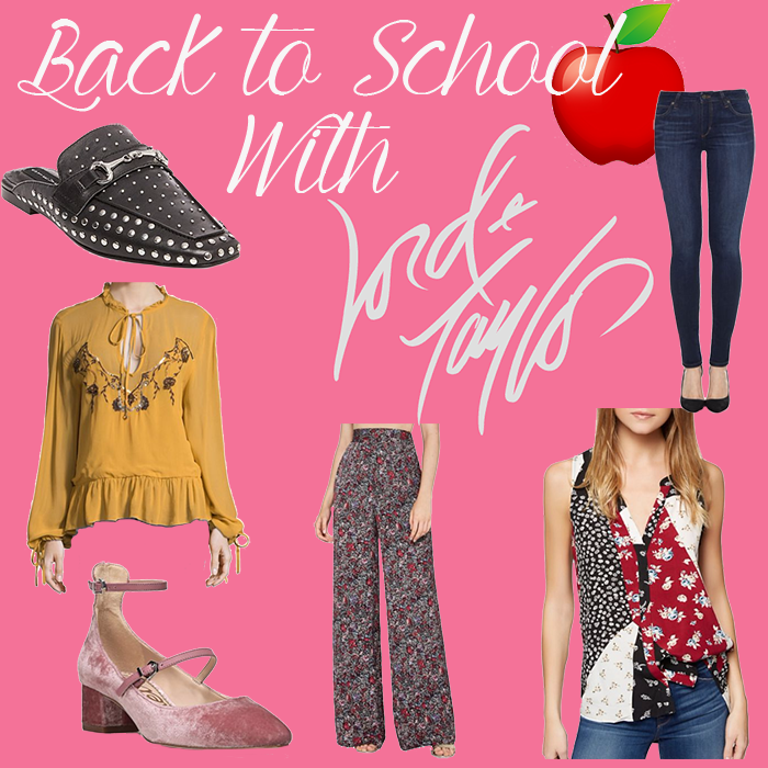 Back to School with Lord & Taylor
