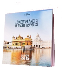 Lonely Places Travel Calendar