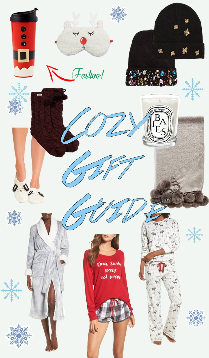 Gift Guide: Cozy Gift Ideas
