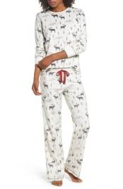 Fleece White PJ's