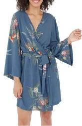 Kimono Robe - Blue