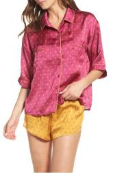 Satin Colorful Shorts PJs