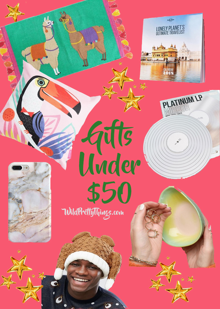 Affordable Gift Guide: Gift Ideas Under $50
